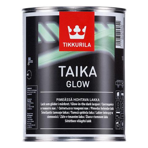 Tikkurila Taika Glow/Тиккурила Тайка Глоу матовый лак с эффектом свечения