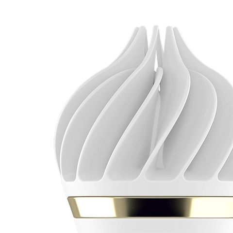 Satisfyer Sweet Treat Мини стимулятор - белый с золотым