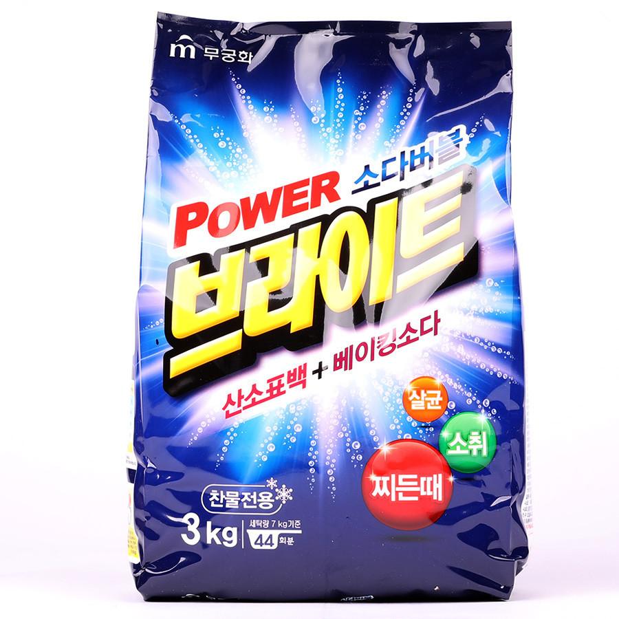 """Бытовая химия Порошок стиральный MUKUNGHWA """"Power Bright Refill Type"""" 3kg Порошок_стиральный_MUKUNGHWA_Power_Bright_Refill_Type_3kg.jpg"""