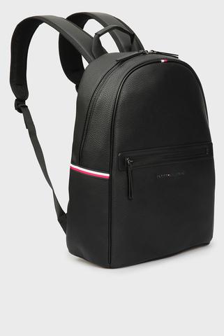 Мужской черный рюкзак ESSENTIAL PU BACKPACK Tommy Hilfiger