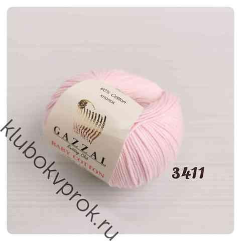 GAZZAL BABY COTTON 3411, Нежный розовый