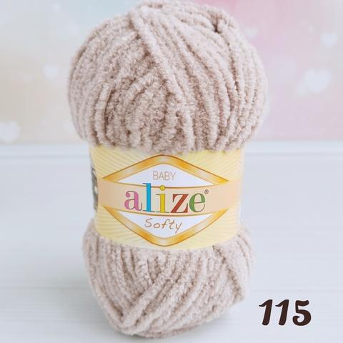 ALIZE SOFTY 115, Бежевый