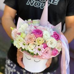 Цветочный единорожка