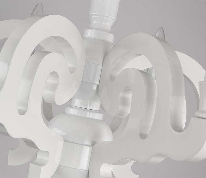 Подвесной светильник копия Paper by Moooi (белый, D90)