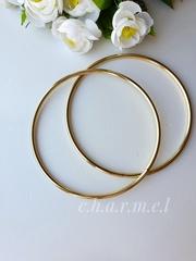 Ручки для сумок металл золото 16 см, 2 шт