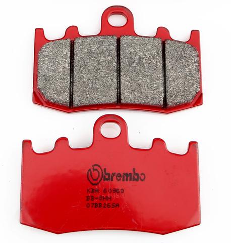Передние тормозные колодки для мотоцикла BMW BREMBO 07BB26SA (FDB2125)