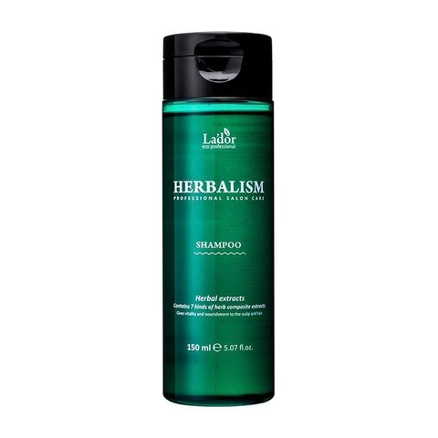Травяной шампунь для волос с аминокислотами Lador Herbalism Shampoo 150 мл.