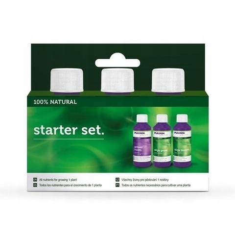 Стартовый набор удобрений Starter Set 100% Natural Plagron