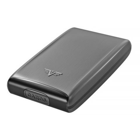 Визитница c защитой Tru Virtu Razor, темно-серый , 104x68x20 мм