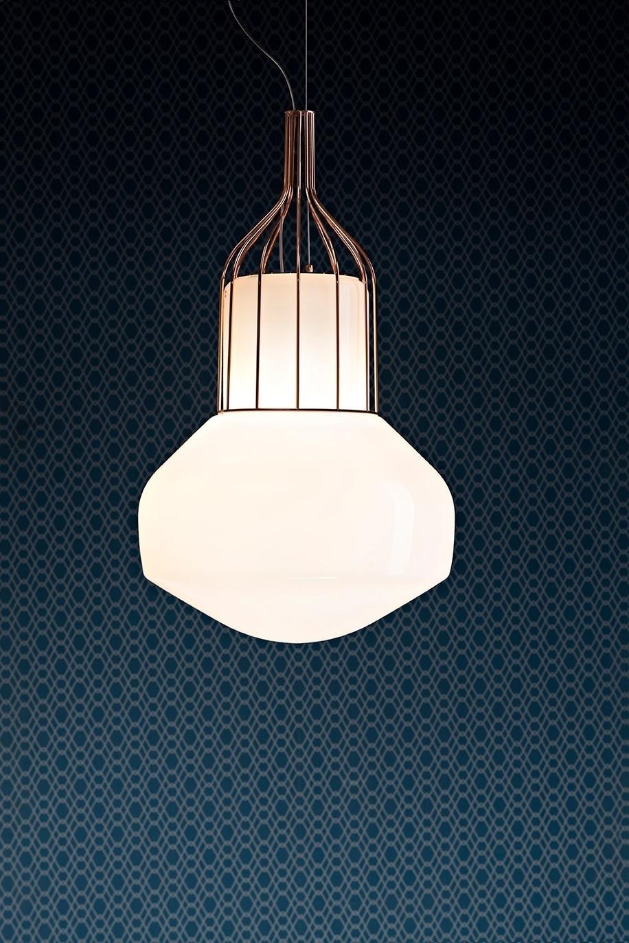 Подвесной светильник копия AEROSTAT mini by Fabbian (бронзовый)