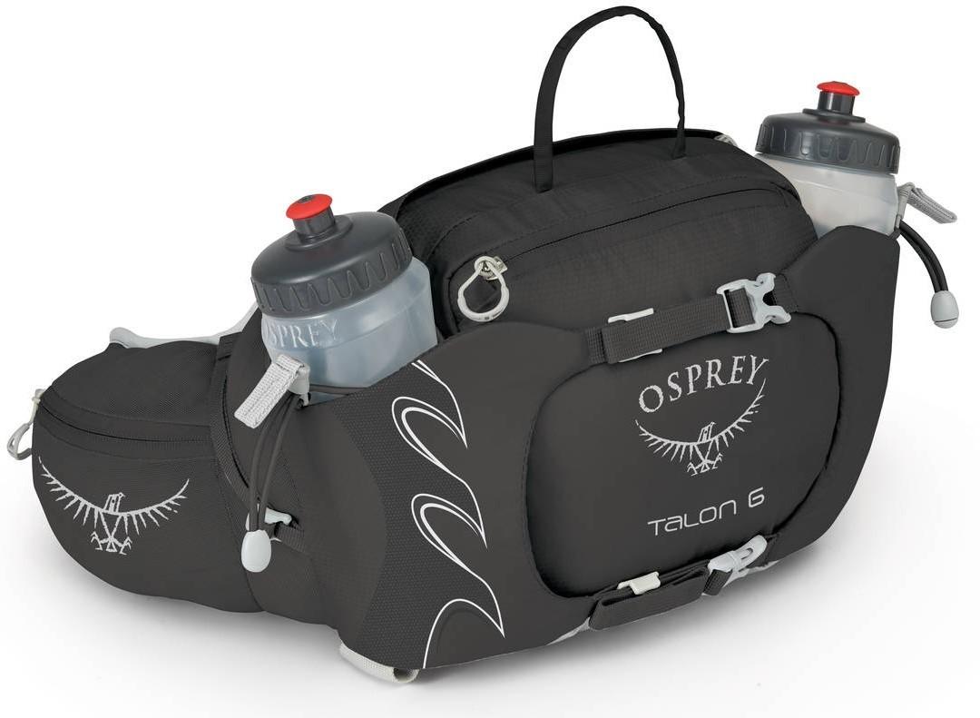 Рюкзаки для бега Сумка поясная для бега Osprey Talon 6 Talon_6_S17_Side_Black_web.jpg