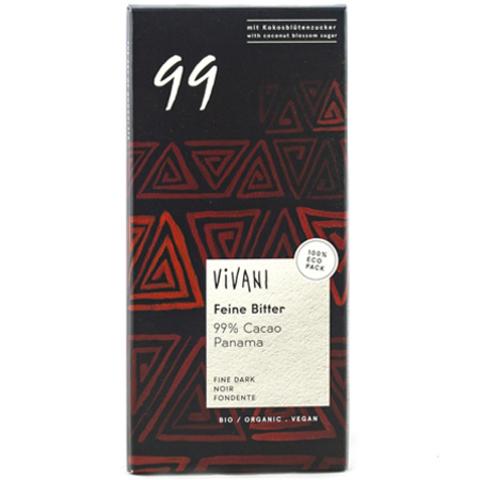 Vivani, Шоколад Экстра Горький 99% какао «Vivani»
