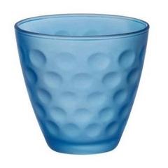 Стакан 250мл Bormioli Rocco Dots Soft голубой