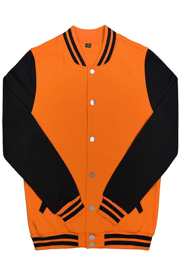Бомбер оранжевый мужской фото