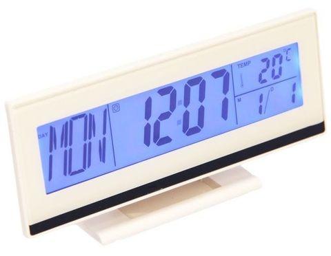 Часы настольные с датчиком удара DS-3618