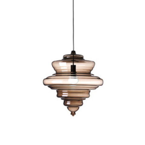 Подвесной светильник Neverending Glory La Scala by Lasvit (коричневый)