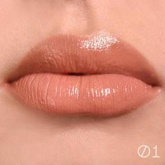 Блеск для губ Relouis с влажным финишем Paradiso тон 02 Rose Dawn