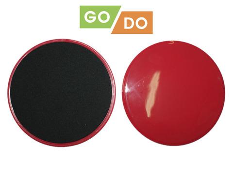 Диски (слайдеры) скольжения GO DO для глайдинга: YJ-O3