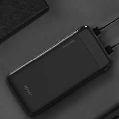 Внешний аккумулятор WiWU 6000mAh, 2 USB out, Type-С in, белый