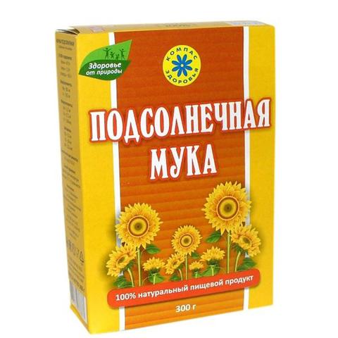 Мука Подсолнечная, 300 гр. (Компас Здоровья)