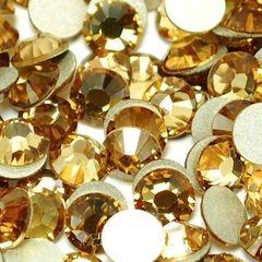 Стразы Swarovski SS5 (2 мм), золото 50 шт