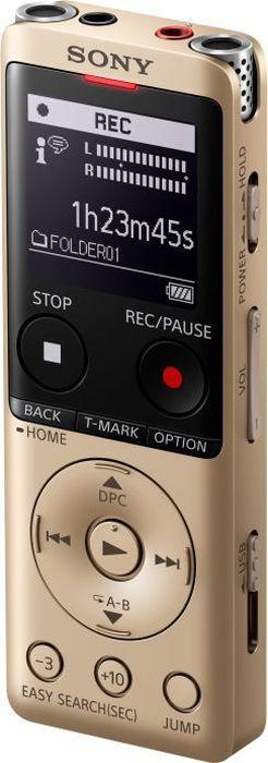 Диктофон Sony ICD-UX570N золотого цвета купить в Sony Centre