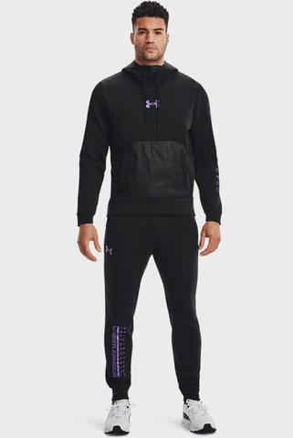 Мужские черные спортивные брюки UA Summit Knit Jogger Under Armour