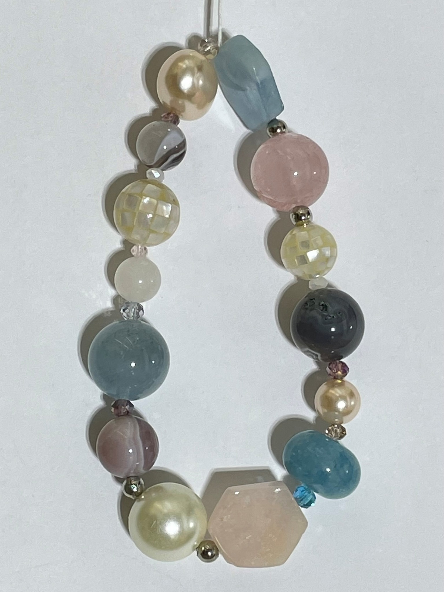 8009-акв (браслет из натуральных камней)