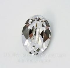 4120 Ювелирные стразы Сваровски Crystal  (18х13 мм)