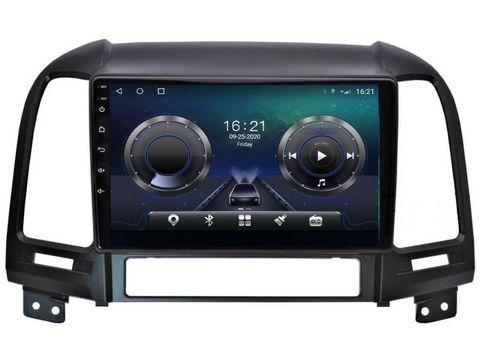 Магнитола для Hyundai Santa Fe (06-12) Android 10 6/128GB IPS DSP 4G модель CB-3075TS10