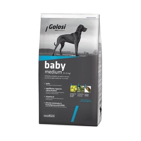 Голози Бэйби Медиум Курица и рис, сухой корм для собак? 20 кг.