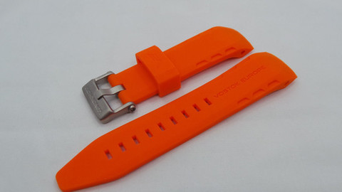 Ремешок силиконовый для часов Восток Европа Луноход-2 620A506 6205189 6205207
