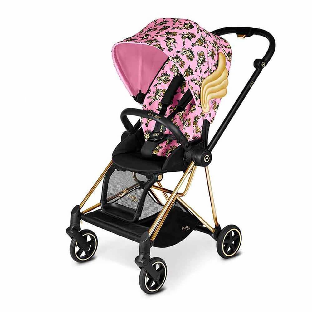 Cybex Mios прогулочная Прогулочная коляска Cybex Mios FE JS Cherubs Pink cybex-mios-pushchair_cherub-pink-by-jeremy-scott_gold.jpg