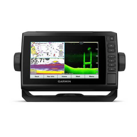 Эхолот-картплоттер Garmin EchoMap UHD 72cv с датчиком GT24