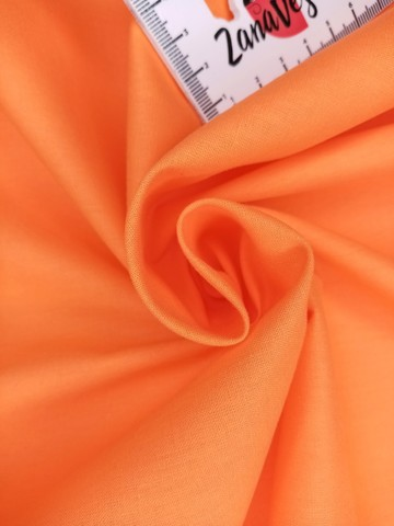 Ранфорс гладкокрашеный Сочный апельсин