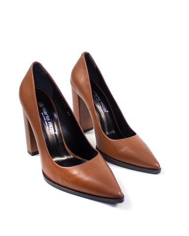 коричневые туфли Mario Muzi