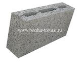 Блок керамзито-бетонный перегородочный пустотелый