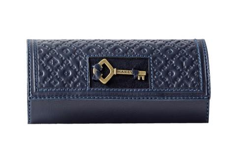 Футляр для ключей «Ключ». Цвет синий