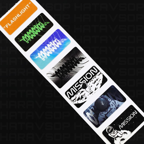 VOID STICKERS Pack of 7 by MISSION XV