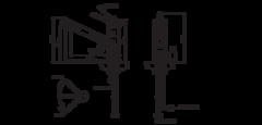 Смеситель Omoikiri Tonami-BN - схема