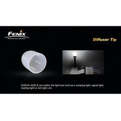 Рассеиватель белый Fenix AOD-S для фонарей
