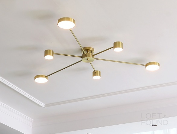 Потолочный светильник Real Mercure