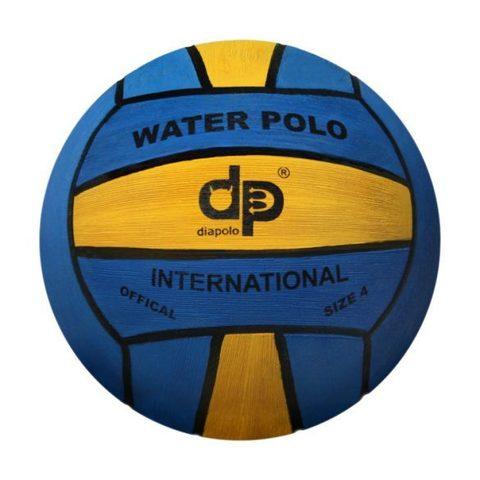 Тренировочный ватерпольный мяч Diapolo W4 woman/junior blue-yellow Размер 4 для женщин/юниоров арт. B-DP4-0701