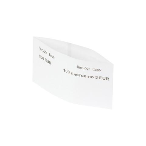 Кольцо бандерольное номинал 5 евро (40х75 мм, 500 штук в упаковке)