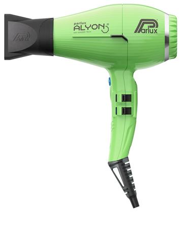Фен Parlux Alyon Ionic, 2250 Вт, 2 насадки, зеленый