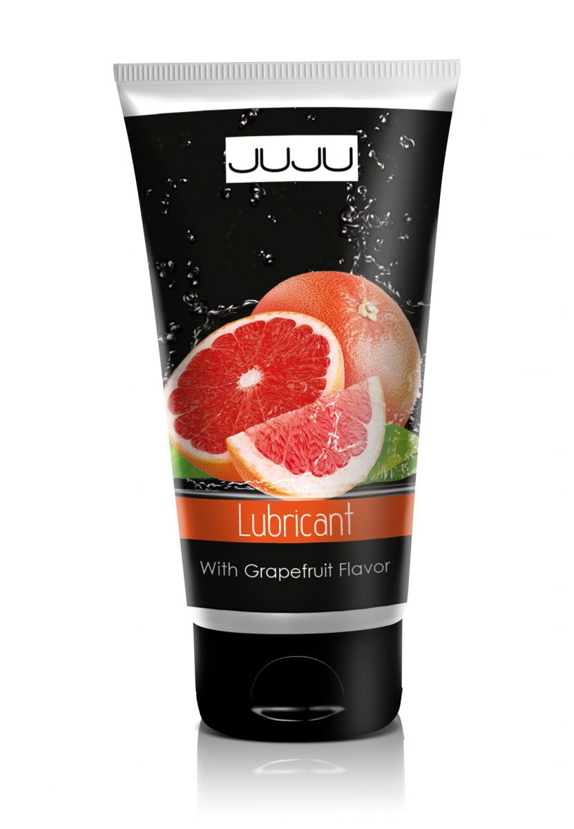 Съедобный лубрикант JUJU с ароматом грейпфрута - 50 мл.