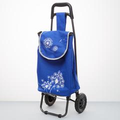 Тележка багажная ручная 20 кг (сумка), 50 кг (каркас) DT-22 синяя