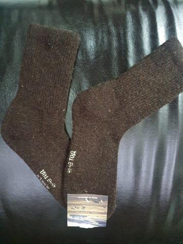 Носки из монгольской шерсти 01104