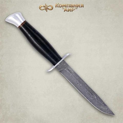 Нож Финка-2, кожа, алюминий, ZD 0803
