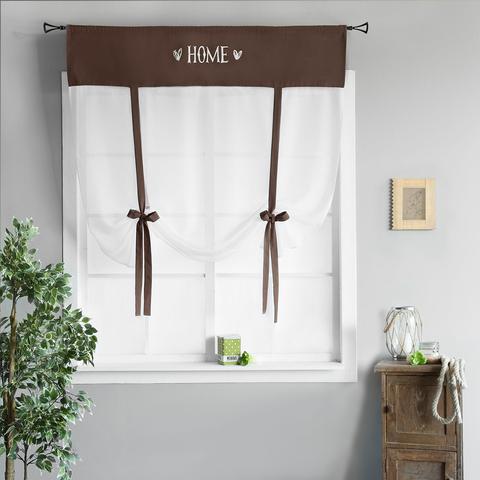 Готовая штора Lolo коричневый